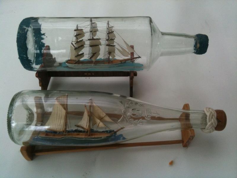 comment mettre un bateau dans une bouteille
