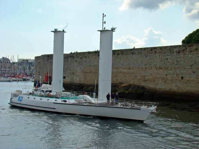 portrait de bateau    u00ab l u2019alcyone de cousteau
