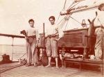 3-mâts Marthe 1900 - les mousses le 6 août 1901 - Envoi de Michel Jacques Maurin